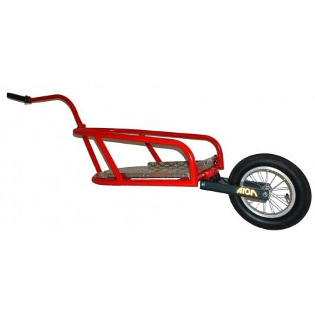 ATO-M Žeryk - červený - nákladní vozík za kolo