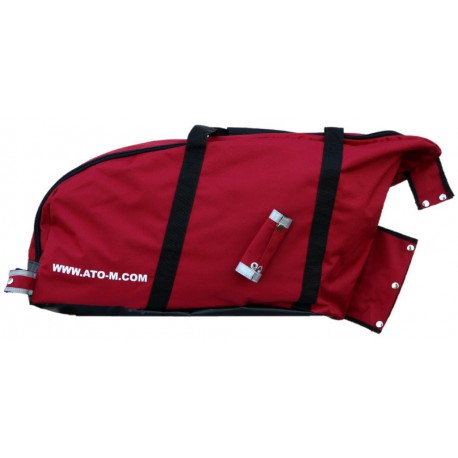 ATO-M Žeryk Anhänger Tasche - Rot